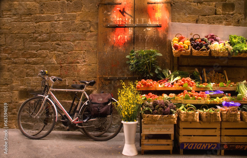 Poster Fiets Florence Market