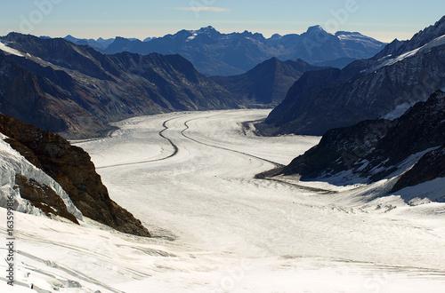Poster Glaciers Glacier in Switzerland