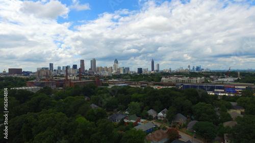 Obraz na płótnie Atlanta Downtown Scenic Shots (zdjęcia lotnicze)
