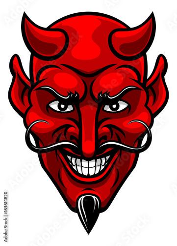 Devil Sports Mascot Poster Mural XXL
