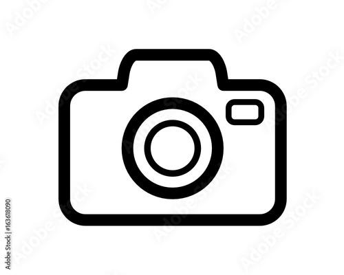 aparat fotograficzny ikona Canvas Print