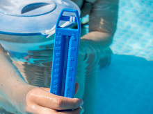 Thermometer Pool Hitze