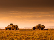 Marine Patrol Soldiers Patrolling