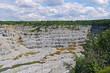 Old granite quarry current. Ekaterinburg, Sverdlovsk oblast, Russia.