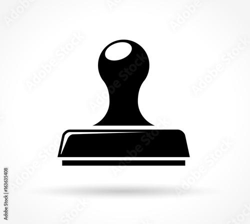 Obraz stamp icon on white background - fototapety do salonu