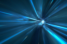 Warp Tunnel In Space
