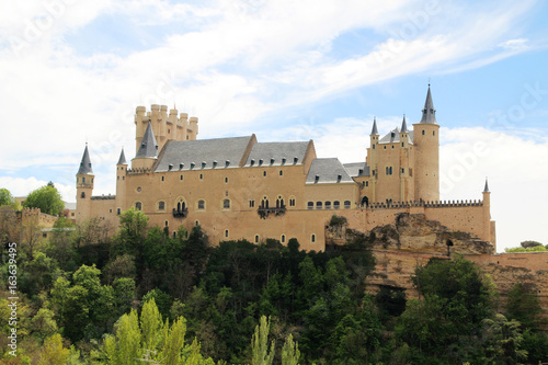 Photo sur Aluminium Monument Alcázar of Segovia, Spain