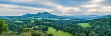 Scott's View Looking To The Eildon Hills In The Scottish Borders. Scotland UK, Europe