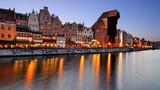 Fototapeta Miasto - Old town of Gdansk