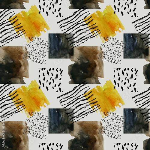 streszczenie-wzor-z-akwarela-kwadraty-w-kolorach-jesieni