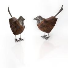 Wooden Bird Figurine