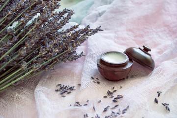 Obraz na płótnie Canvas Lavender cosmetic