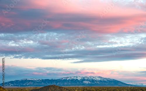Photo Alpenglow Over Blanca Peak in the Sangre de Cristo Mountains