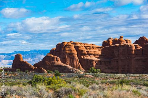 Arches National Park Utah Rock Formations Fotobehang