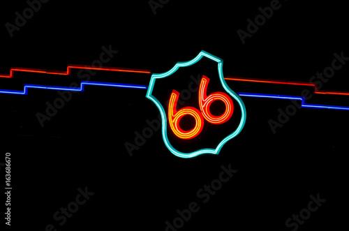 Papiers peints Route 66 Route 66 Neon Sign in Albuquerque
