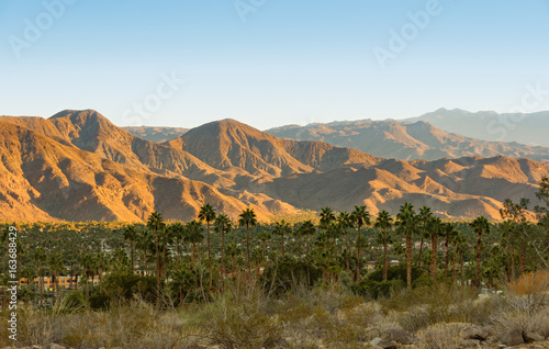 Photo Stands United States Palm Springs and San Jacinto Mountains