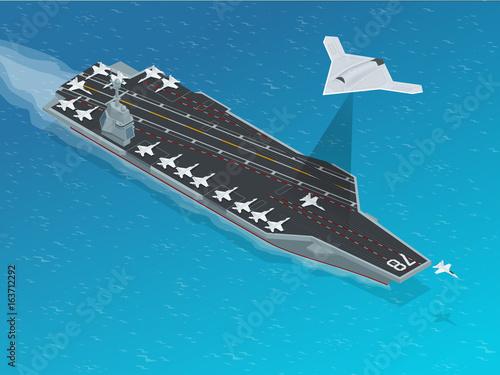 Photo  Isometric Long Range Strike-Bomber