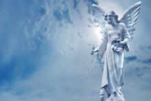 Guardian Angel Sculpture Over ...