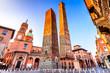 canvas print picture - Bologna, Emilia-Romagna - Italy - Due Torri