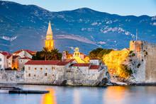 Budva, Montenegro - Fortress At Twilight