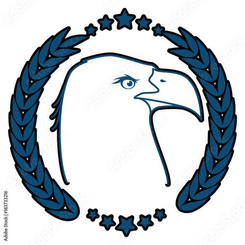 American Eagle Symbol Icon Vector Illustration Graphic Design Buy