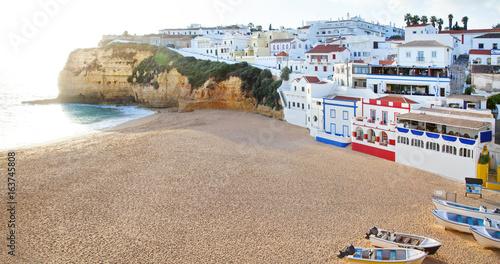 Algarve, Portugal, Carvoeiro Canvas Print