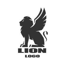 Winged Lion, Logo, Symbol.