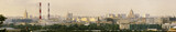 Panoramic view of central Moscow. Russia