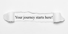 Your Journey Starts Here! On W...