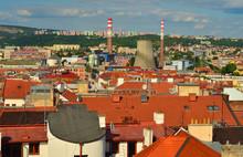 Brno -  Pohled Na Město (Česká Republika)