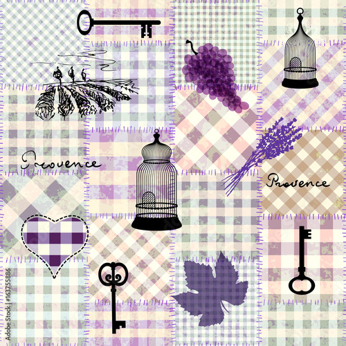 Seamless background pattern Slika na platnu