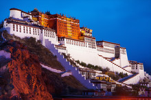 Potala Palace In Lhasa, The Fo...