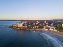 Aerial View Of Cronulla Beach ...