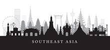 Southeast Asia Landmarks Skyli...