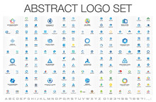 Abstract Business Logo Set. Co...
