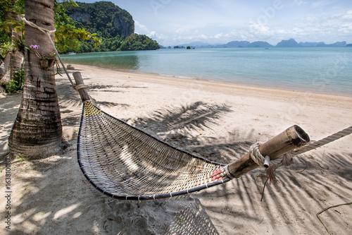 hamak-na-plazy-na-wyspie-koh-yao-noi-tajlandia