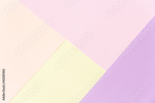 Fotografie, Obraz  abstract color pastel papers for background