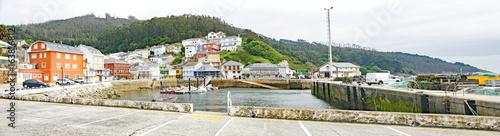 Porto Barqueira, concello de Cerdido, A Coruña, La Coruña, Galicia, España