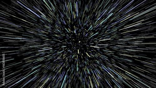 Stars Field Hyperspace