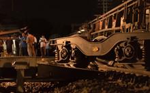Cement Train Derailment In Nak...
