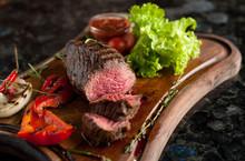 Juicy Chopped Steak Chateaubri...