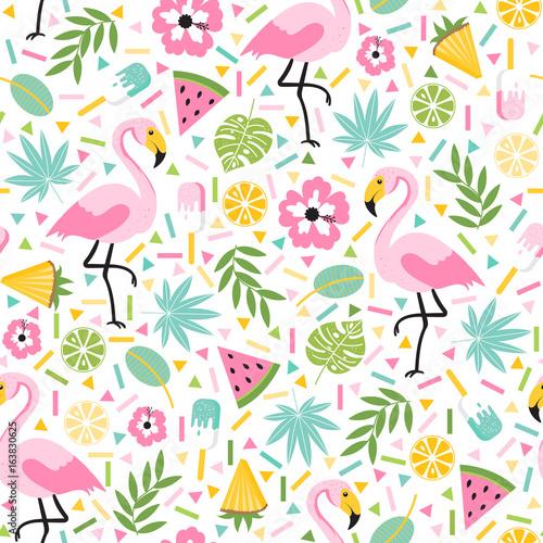 tropikalny-wzor-z-flamingami