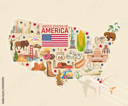 Welcome to USA Wallpaper Mural