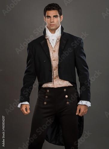 Fotografie, Obraz  Regency Gentleman