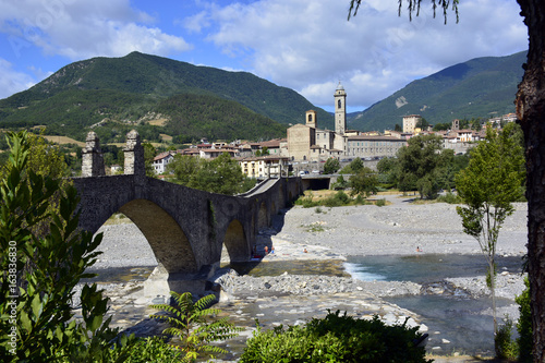 Panorama di Bobbio Wallpaper Mural