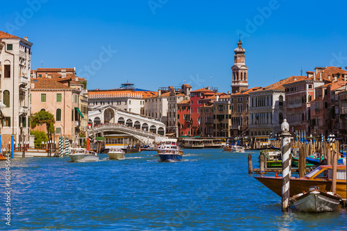 Foto auf AluDibond Venedig Grand Canal in Venice Italy