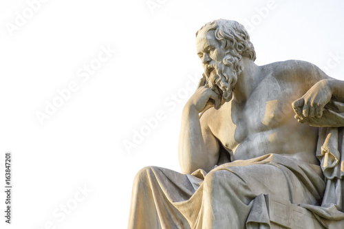 Canvas Prints Historic monument Socrates