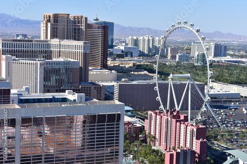 Obraz na dibondzie (fotoboard) Las Vegas, Nevada - USA - czerwca 05,2017 - Big Wheel Las Vegas