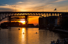 Sunset Over The Cuyahoga