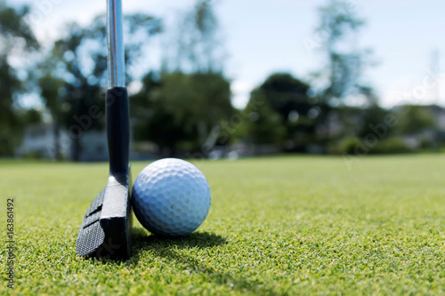 side-view-of-a-putter-and-a-white